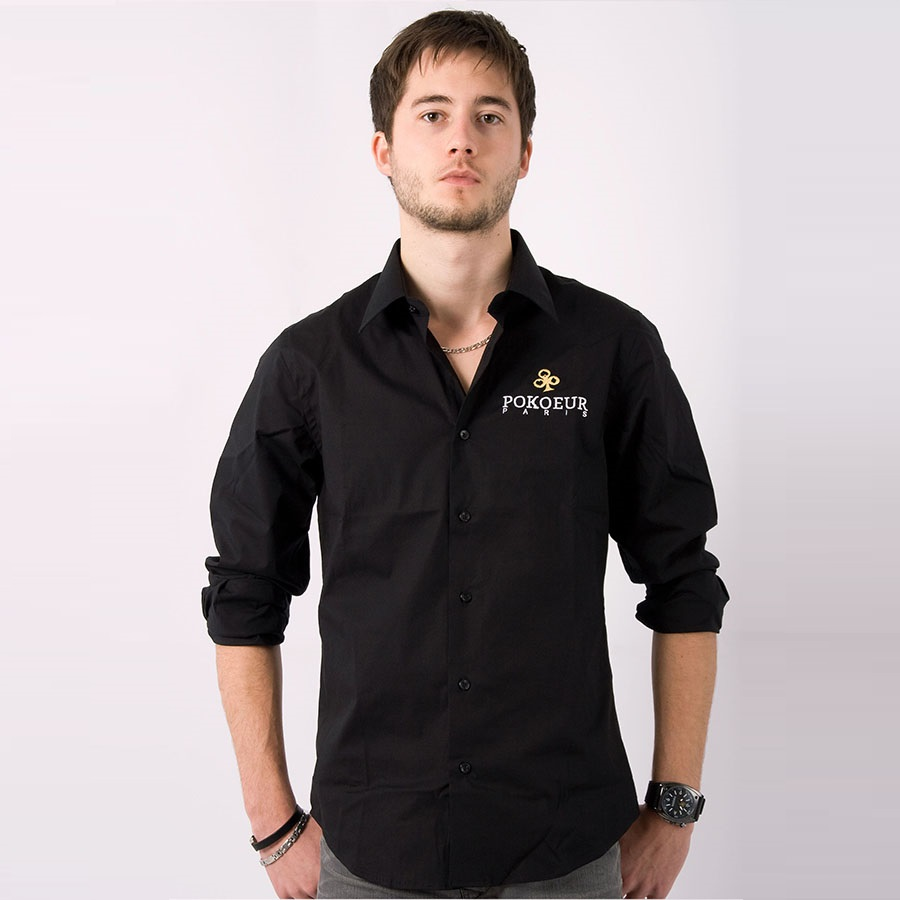 Découvrez Pokoeur Paris - Mode, Textile et Accessoires Poker  Chemise-Poker-Homme-Noir1