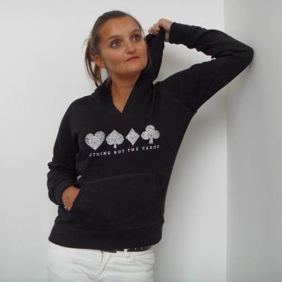 Sweat Capuche Poker Femme DIGITALE