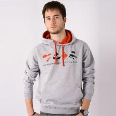 Sweat Capuche Poker Red